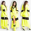 Домашний шикарный махровый женский уютный комплект: махровые халат и сапожки для дома. Арт-4800