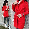 Женское пальто-кардиган на кулиске с карманами в расцветках. БЛ-2-1018, фото 2