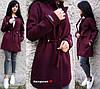 Женское пальто-кардиган на кулиске с карманами в расцветках. БЛ-2-1018, фото 3