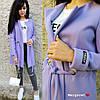 Женское пальто-кардиган на кулиске с карманами в расцветках. БЛ-2-1018, фото 8