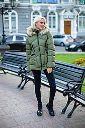 Женская стильная теплая короткая куртка (3 цвета)