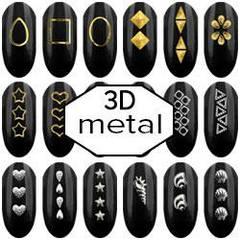 3D метал декор