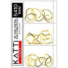 KATTi Метал декор трио-пак 5410 золотые 3D