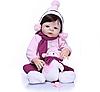 Лялька Реборн Reborn Дівчинка 57см ( Вінілова Лялька ). Арт.01187