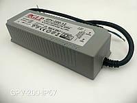 Источник питания для светодиодной ленты GPV-200-12-IP67