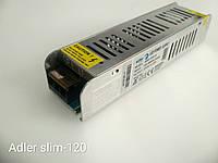 Источник питания  для светодиодной ленты ADLER SLIM-120-12
