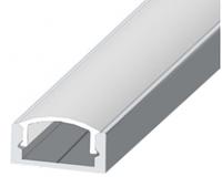 Алюминиевый профиль  для светодиодной ленты П -образный 007-ЭКО