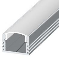 Алюминиевый профиль   для светодиодной ленты ЛП-12 ЭКО