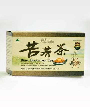 Чай из горькой гречихи Грин Ворлд купить,20 пакетиков по 4 грамма., фото 2