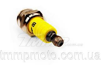 Свеча  AKME Premium YELLOW 3-х контактная, фото 3