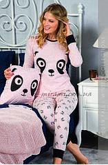 Стильная пижама отменного качества для мамы и дочки