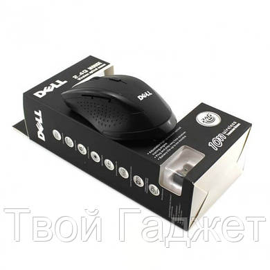ОПТ/Розница Мышь компьютерная беспроводная Dell 2.4G черная
