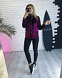 Женская бархатная рубашка (3 цвета), фото 2