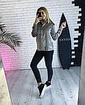 Женская бархатная рубашка (3 цвета), фото 4