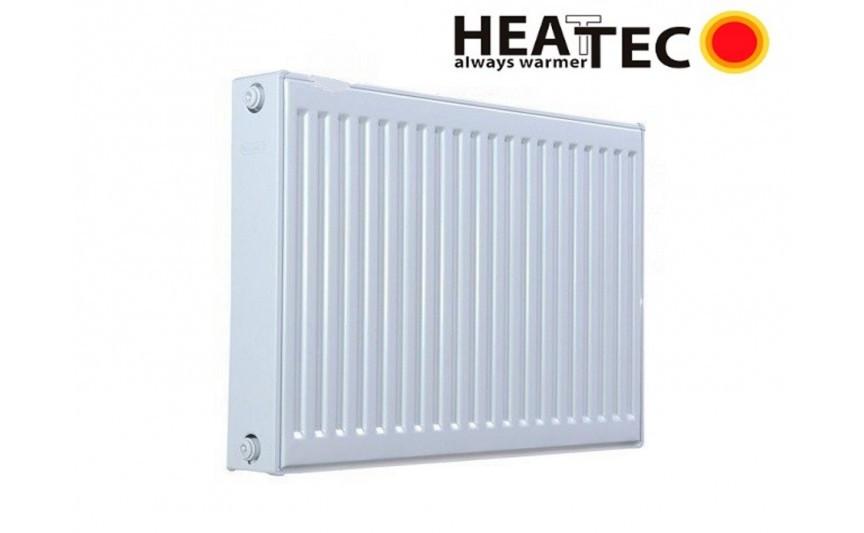 Стальной Радиатор отопления (батарея) 500x1200 тип 22 Heattec (боковое подключение)
