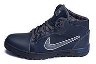 Мужские зимние кожаные ботинки Nike Anti-Core (реплика), фото 1