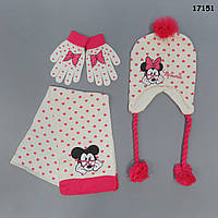 Набор Minnie Mouse для девочки. 50-55 см, фото 1