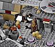 """Конструктор Bela 10467 Star Wars """"Сокол Тысячелетия"""" 1364 деталей, фото 5"""