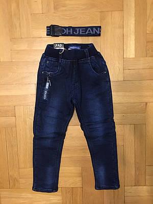 Джинсовые брюки утепленные для мальчиков F&D 104-134 р.р.