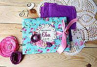 Книга пожеланий для девочки с конвертиком для локона