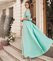 9f60a9f1a6f Длинное бирюзовое платье в Украине. Сравнить цены