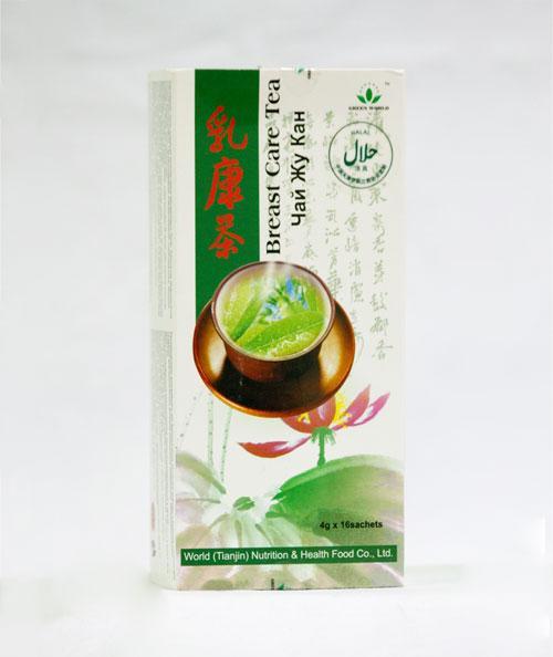 Чай ЖУ КАН Грин Ворлд купить,16 пакетиков по 4 грамма.терапия опухолевых заболеваний молочной железы.