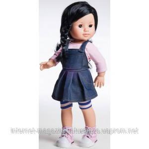 Кукла Paola Reina Лис в джинсовом сарафане