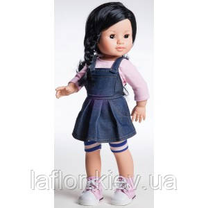 Кукла Paola Reina Лис в джинсовом сарафане, фото 2