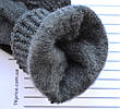 Подростковые шерстяные перчатки - длина 18-19 см, фото 2
