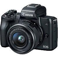 2680C060 Цифр. фотокамера Canon EOS M50 + 15-45 IS STM Kit Black, 2680C060
