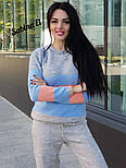 Женский вязаный цветной костюм (в расцветках), фото 8