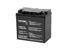 Аккумулятор гелевый VIPOW 12 В 55 А/час BAT0223
