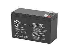 Аккумулятор гелевый 12 В 7,5 А/час MaxPower BAT0403