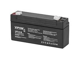 Аккумулятор гелевый 6 В 3,3 А/час BAT0205