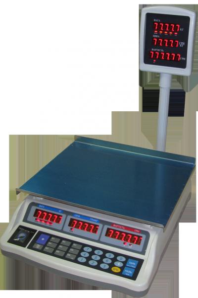 Весы торговые Днепровес F902H-30E, фото 1