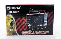 Радиоприемник Golon RX BT02 портативная колонка bluetooth / USB /SD / MP3/ FM
