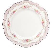 Набор 8 десертных тарелок Bona Bristol d 21 см Розовый (BD-931-130_psg)