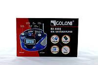 Портативный радиоприемник бумбокс GOLON RX-669Q радио FM / MP3 / SD / USB / аккумулятор / пульт ДУ