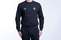 Мужской спортивный костюм Adidas-Chelsea, Челси, Адидас, черный ba06c58b66e