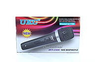 Ручной вокальный микрофон UKC DM WG 198 в металлическом корпусе