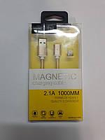 USB Провод на магните для Apple магнитная зарядка (lightning)