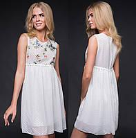 d3589664b00 Шифоновое платье с цветами в Украине. Сравнить цены
