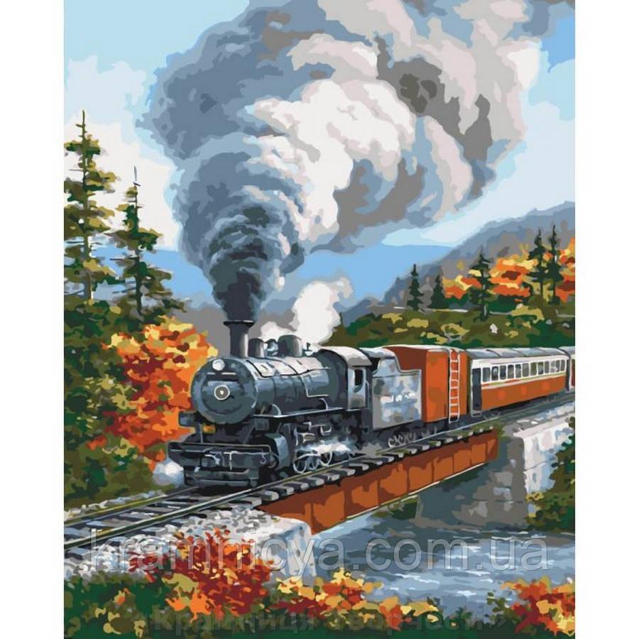 Картина по номерам Навстречу приключениям (КНО2514)