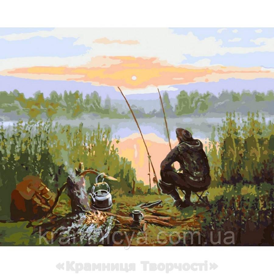 Картина по номерам Отдых возле речки (КНО2241)