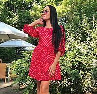 76889aba408 Платье в горошек с красным поясом в Украине. Сравнить цены