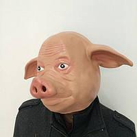 Маска резиновая Свинья