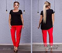 Штаны 206 женские R-20728 красный
