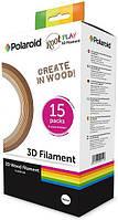 PL-2501-00 Набор нити 1.75мм WOOD (дерево) для ручки 3D Polaroid ROOT (15*5m), PL-2501-00