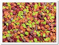Листики оранжевые посыпка сахарная декоративная 40 гр