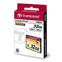 TS32GCF1000 Карта памяти Transcend 32GB CF 1066X, TS32GCF1000